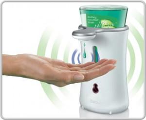 Erogatore automatico del sapone