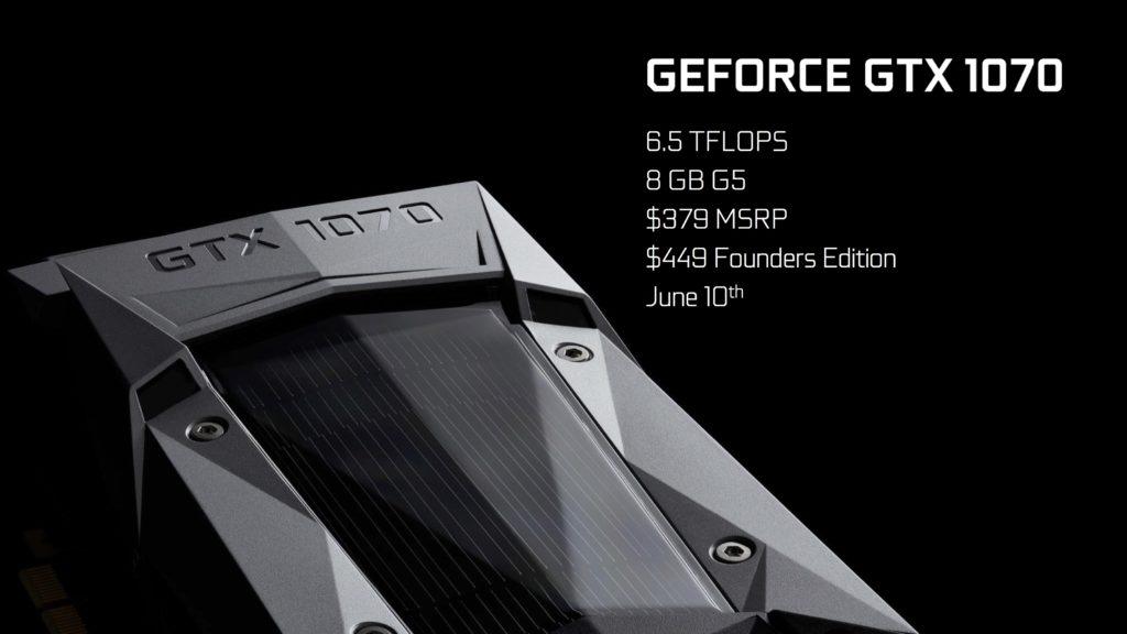 nVidia GTX 1070 e GTX 1080