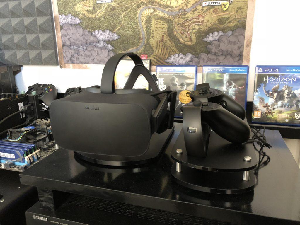 stand Oculus Rift e oculus touch