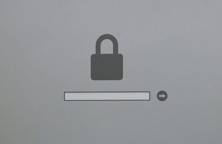 Rimuovere password firmware Mac